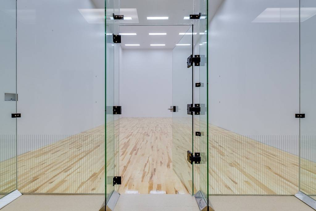 Gallery racquetball courts squash courts design for Build a racquetball court