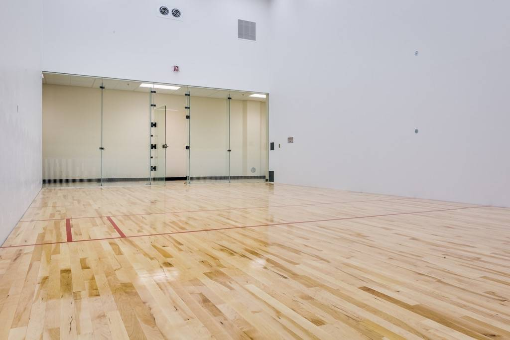 Photo gallery racquetball and squash courts for Build a racquetball court