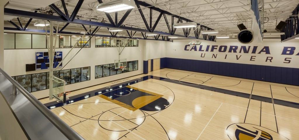 Hardwood Gymnasium Flooring