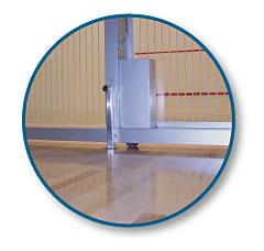 racquetball convert a court